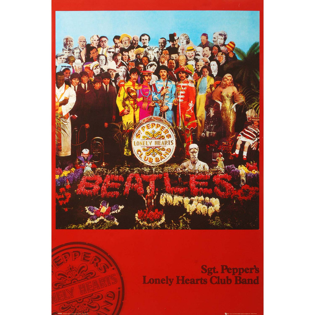 Sgt. Pepper Domestic Poster