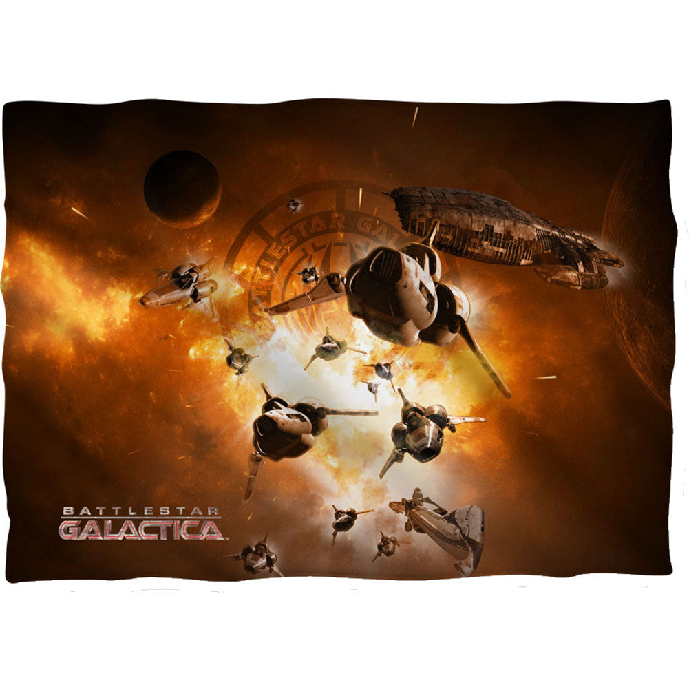 Dog Fight 20x28 Pillowcase