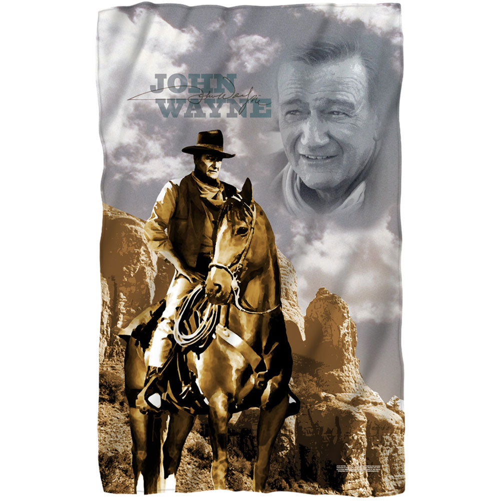 Ride Em Cowboy 36x58 Fleece Blanket