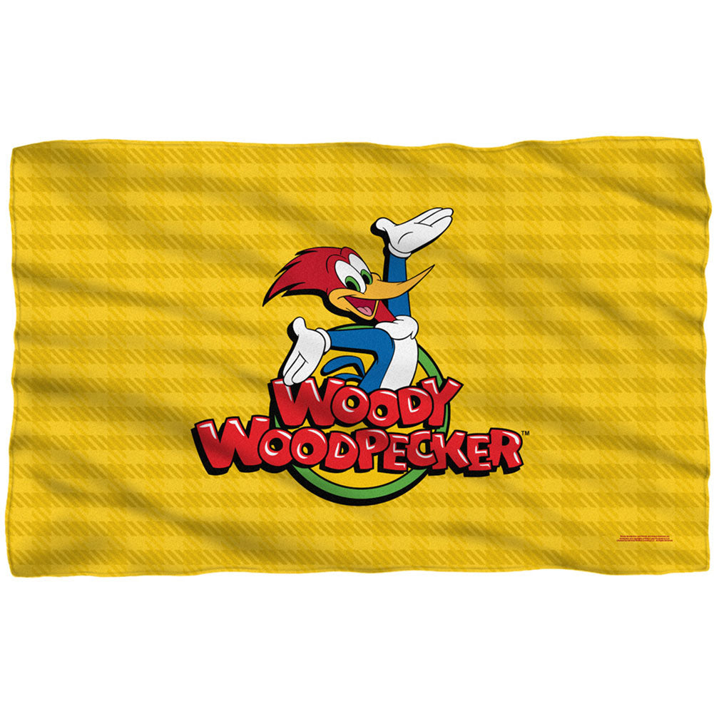 Woody 36x58 Fleece Blanket