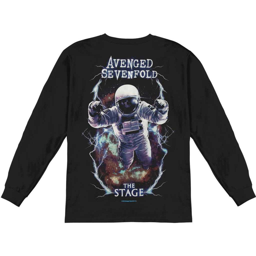 AVS Logo Spaceman Mens Longsleeve  Long Sleeve