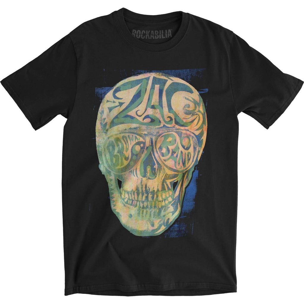 Skull Square Mens Soft T Slim Fit T-shirt