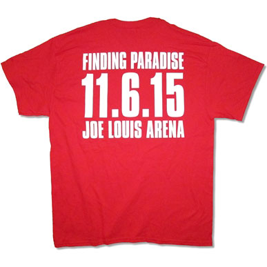Joe Louis Arena 2015 Tour T-shirt