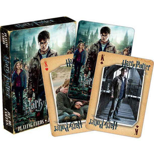 Deathly Hallows Part 2 Playing Cards