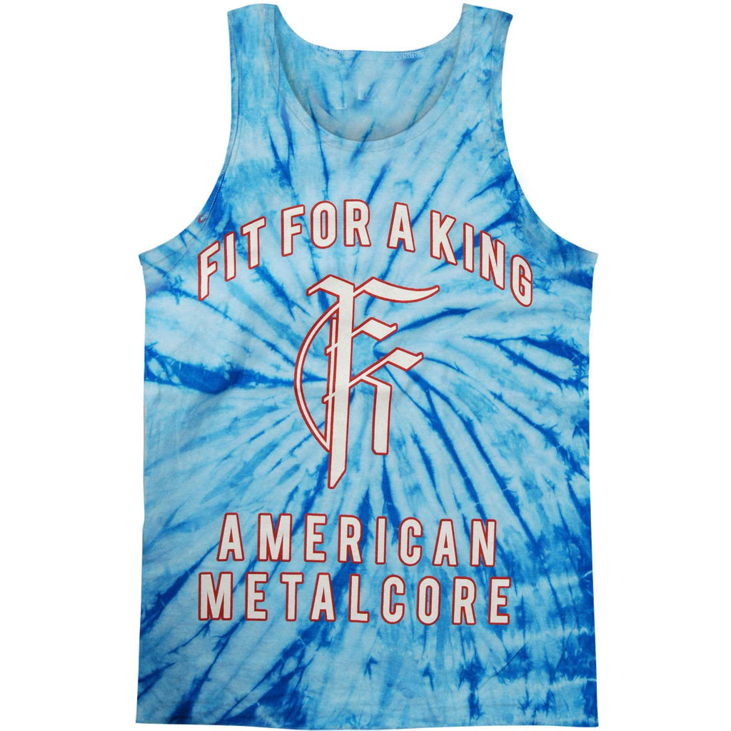 Fit For A King American Metalcore Mens Tank
