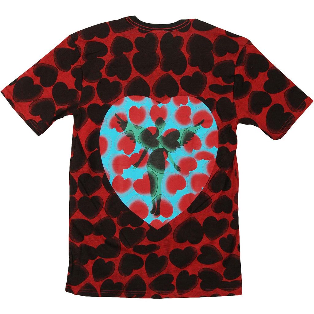 Heart Shaped Box Dye Mens T Over Dyed T-shirt