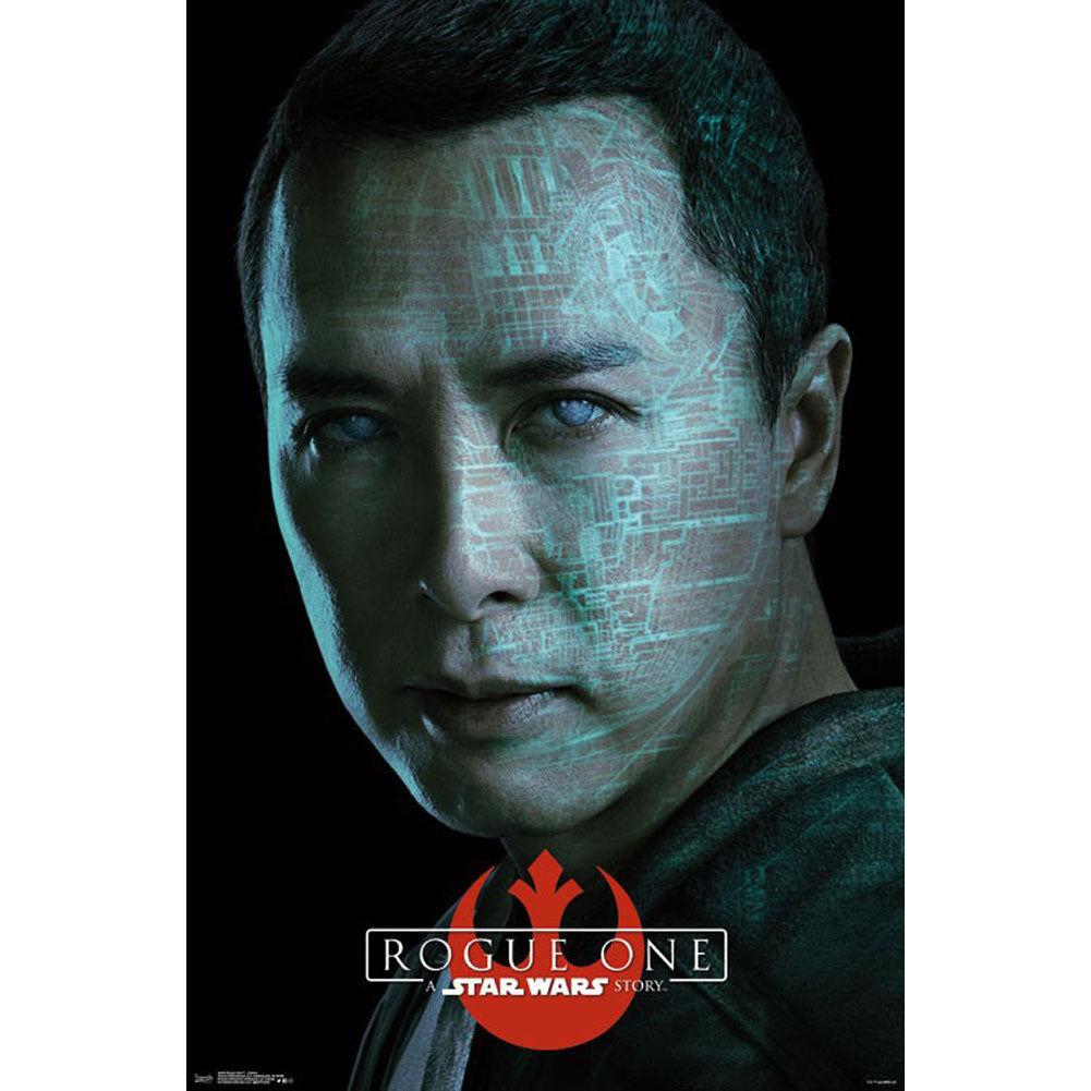 Rogue One Chirrut Domestic Poster