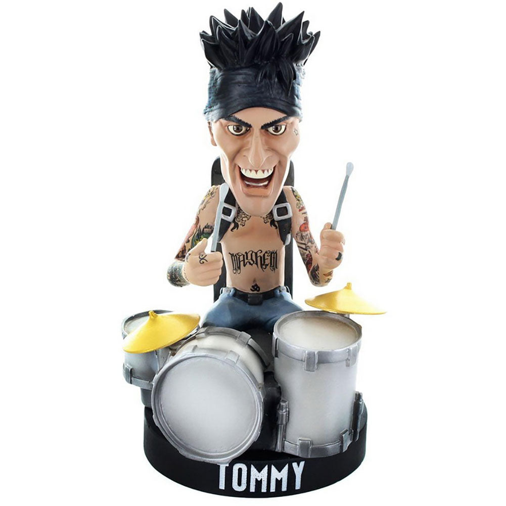 Locoape Tommy Lee No Drum Rig Resin Bobble Head Statue Head Knocker