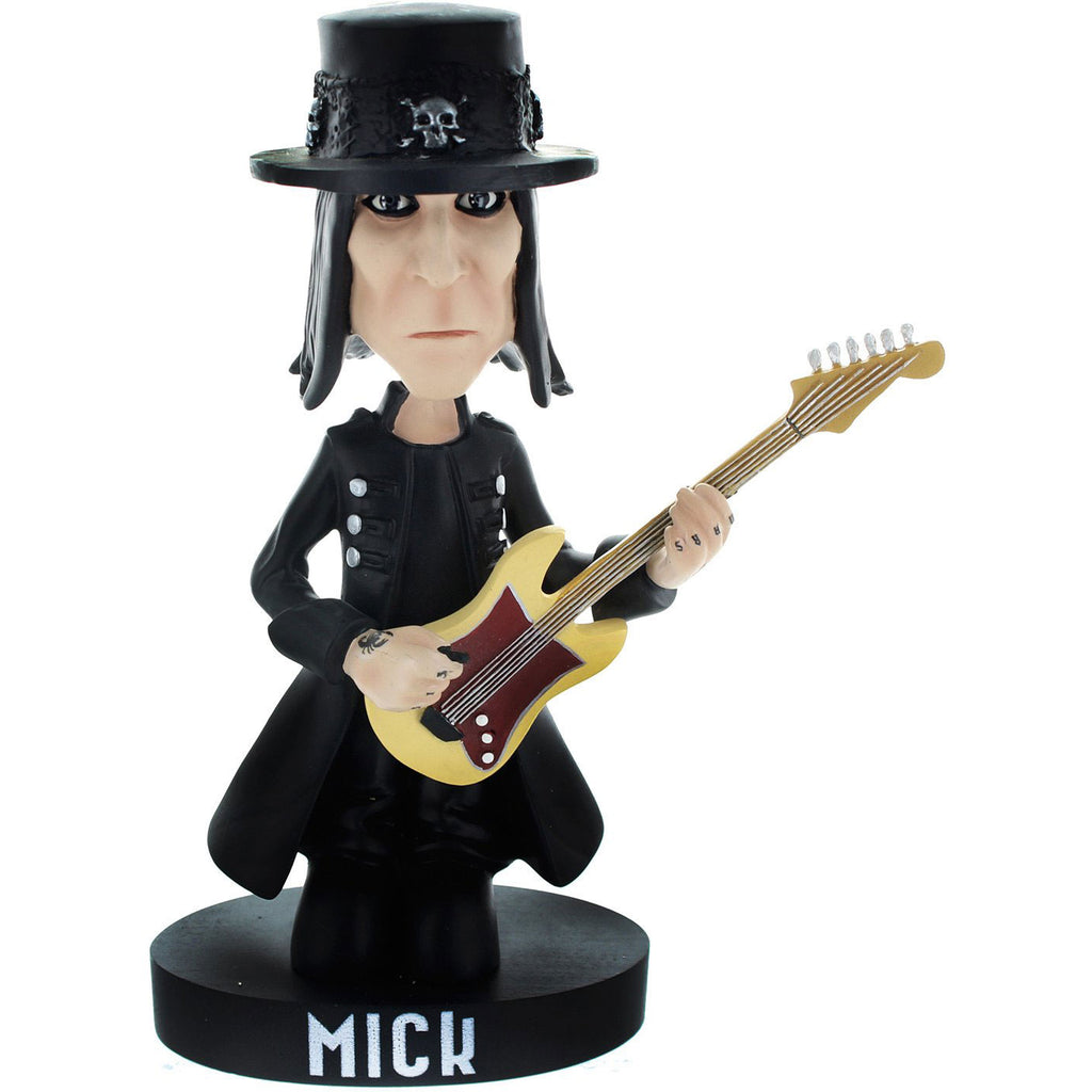 Locoape Mick Mars Resin Bobble Head Statue Head Knocker