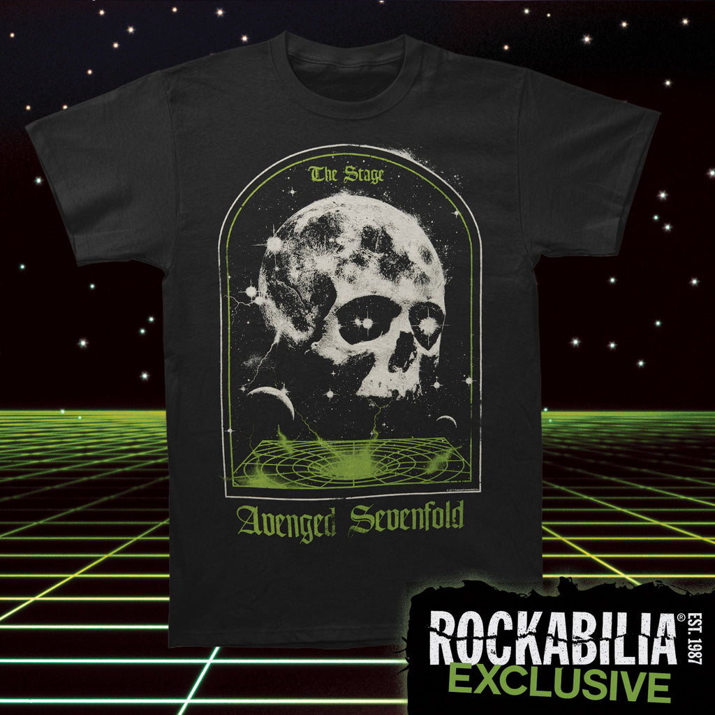 AVS The Stage Skull Mens RegularT T-shirt