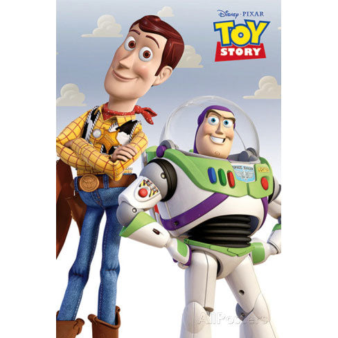 Woody & Buzz Domestic Poster