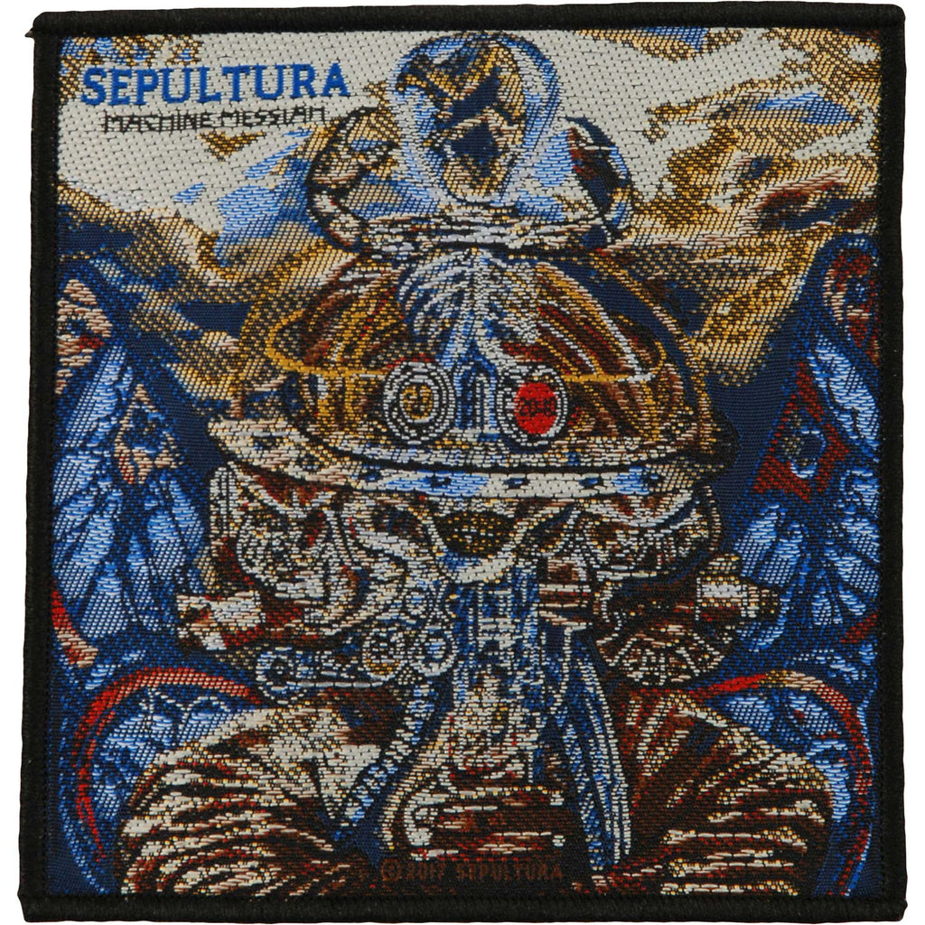Machine Messiah Woven Patch