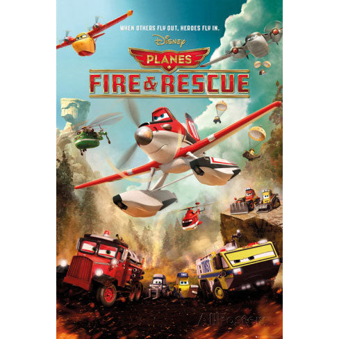 Fire & Rescue Domestic Poster