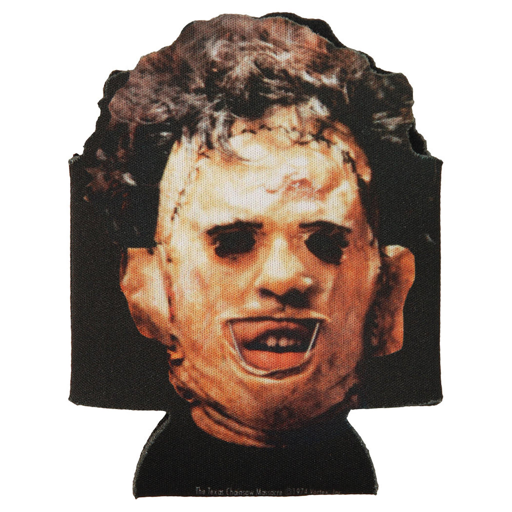 Leatherface Diecut Can Cooler