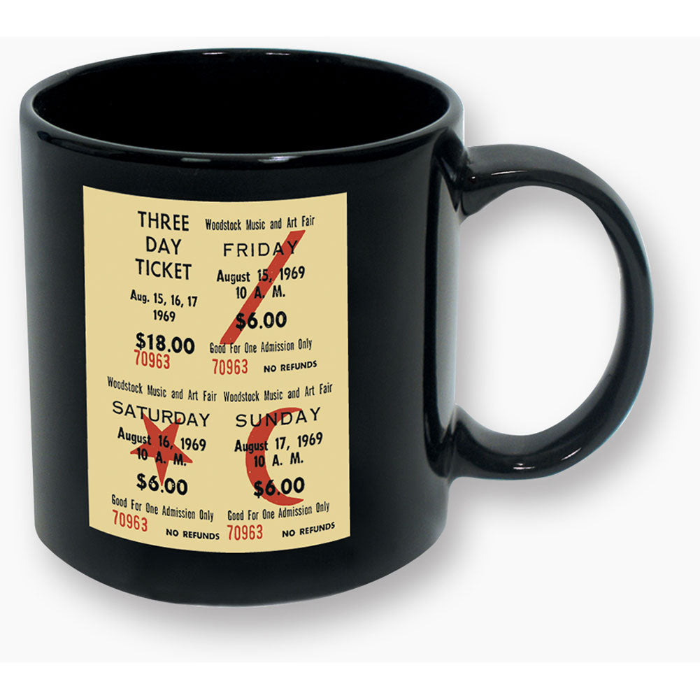 Three Day Ticket Coffee Mug
