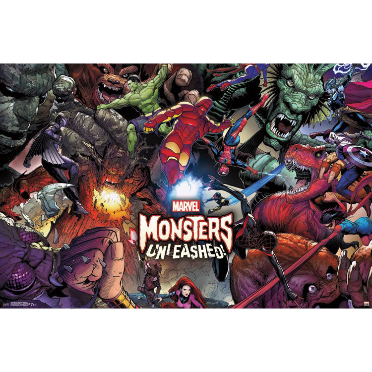 Monsters Unleashed Domestic Poster