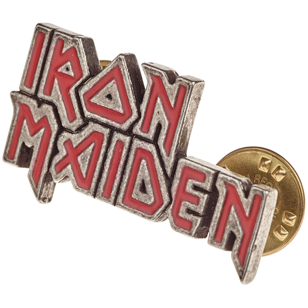 Enamelled Logo Pewter Pin Badge