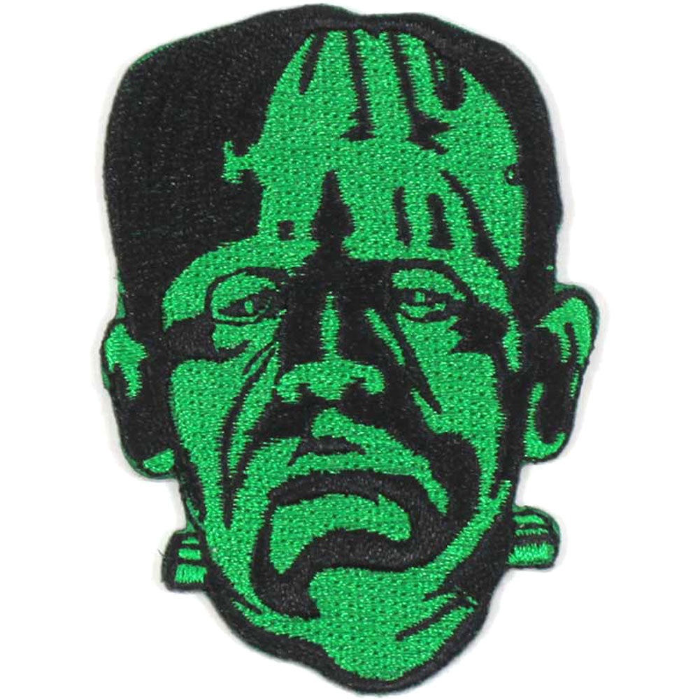 Frank Head by Rock Rebel Embroidered Patch