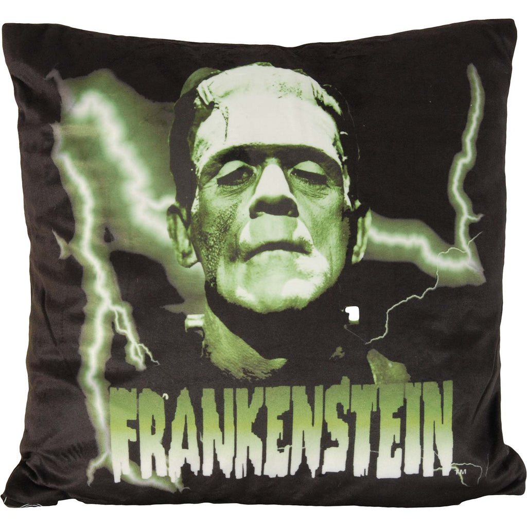 Frankenstein Pillow by Rockabilia Pillow