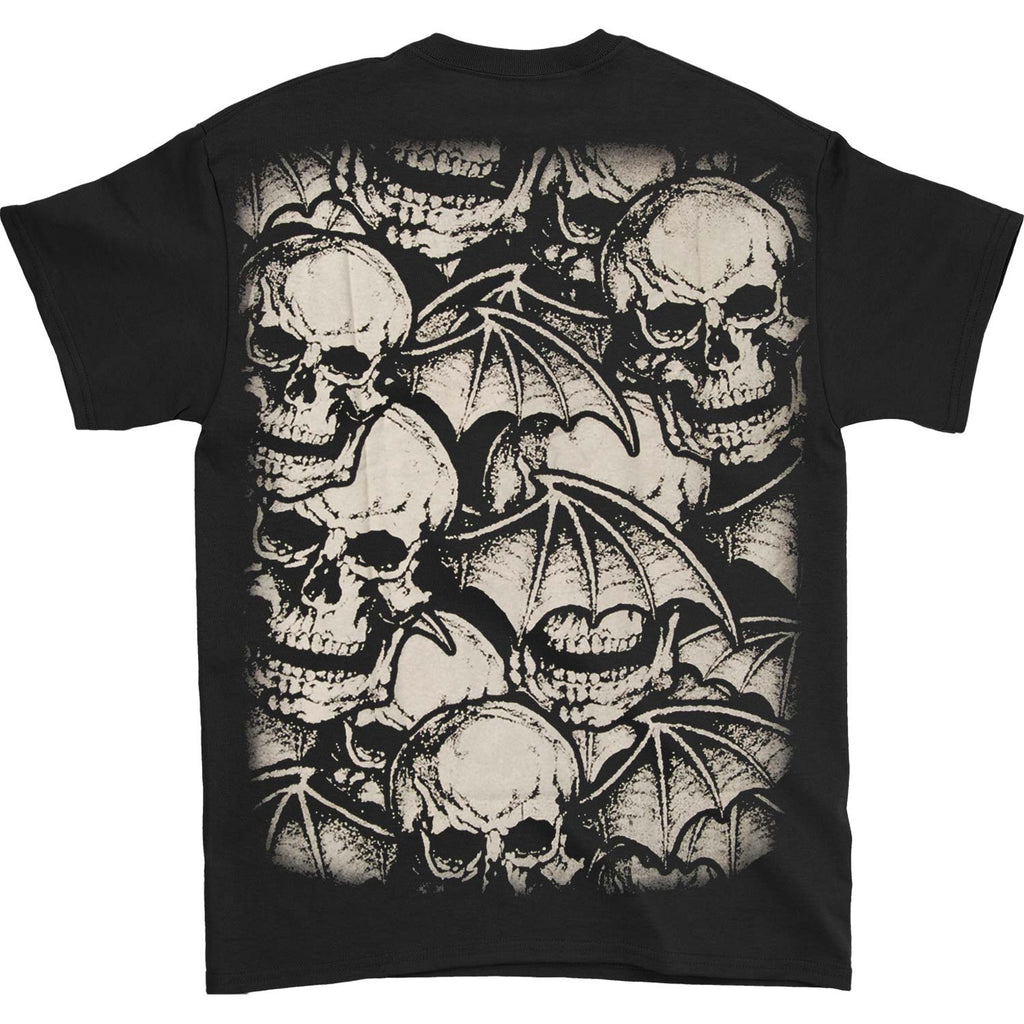 AVS Deathbat Allover Mens Reg T T-shirt