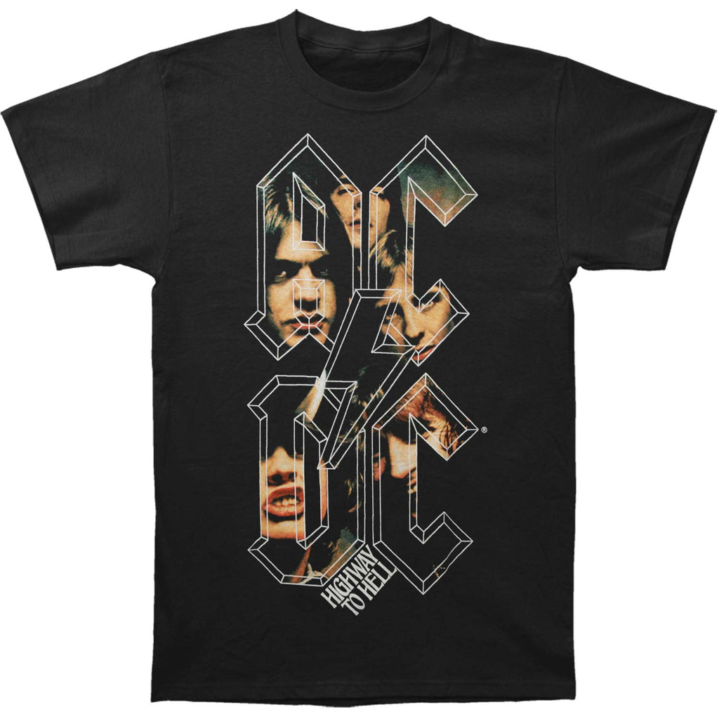 AC/DC Highway To Hell Stacked T-shirt