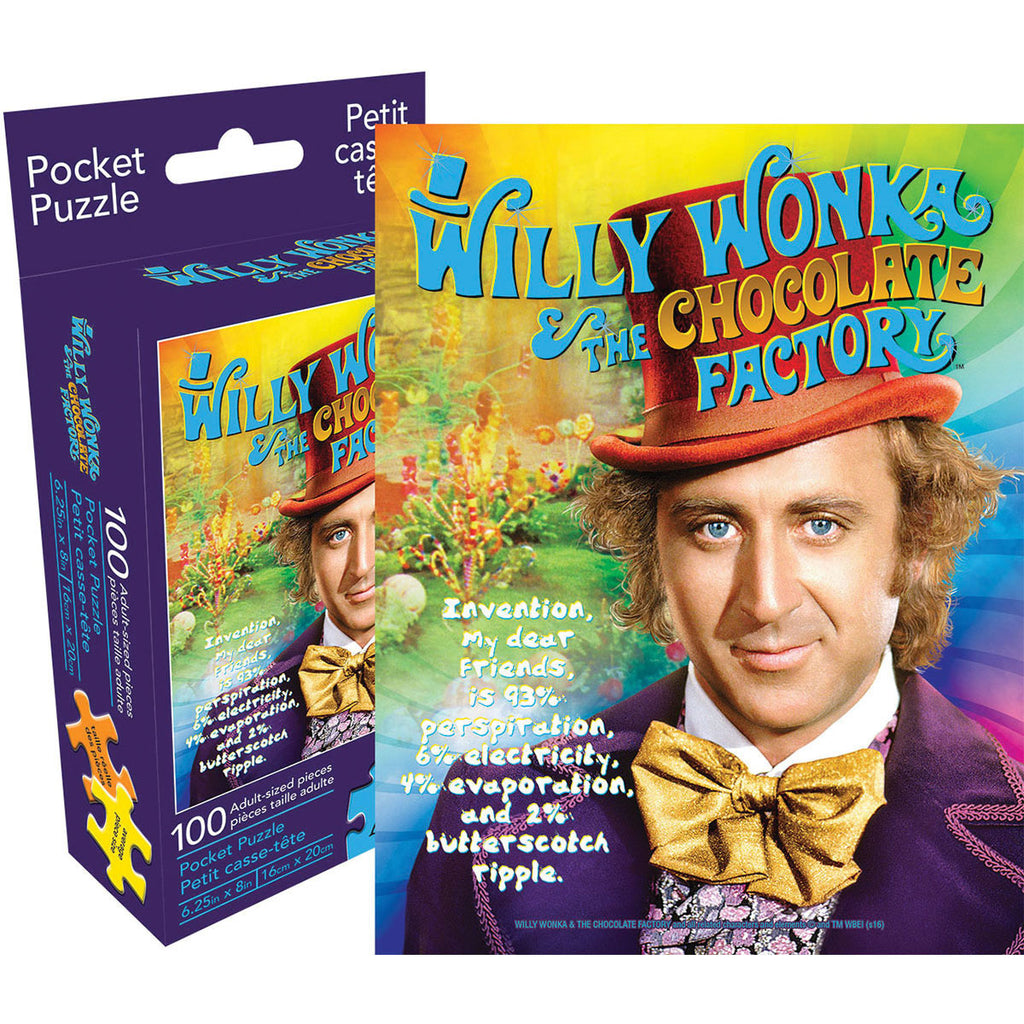 Willy Wonka & The Chocolate Factory Recipe Puzzle