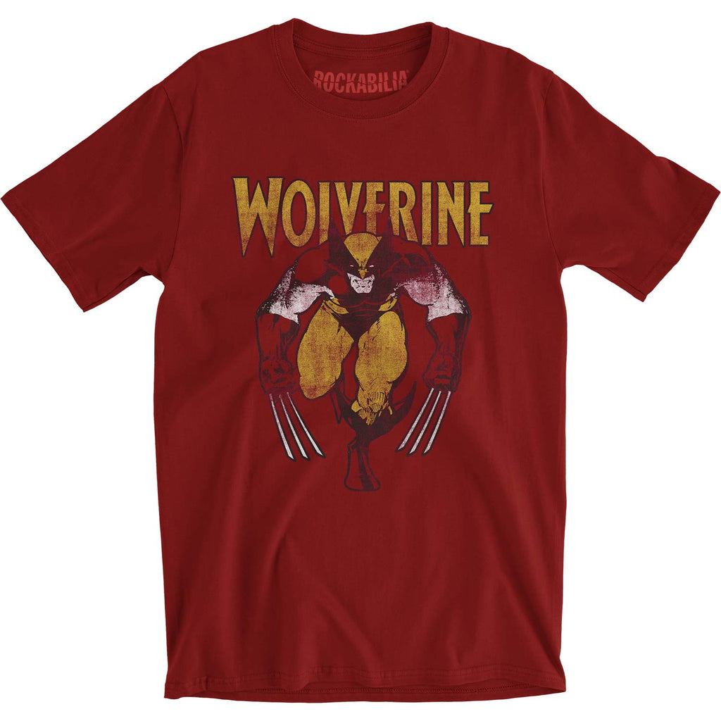 Wolverine Wolverine On Red Slim Fit T-shirt