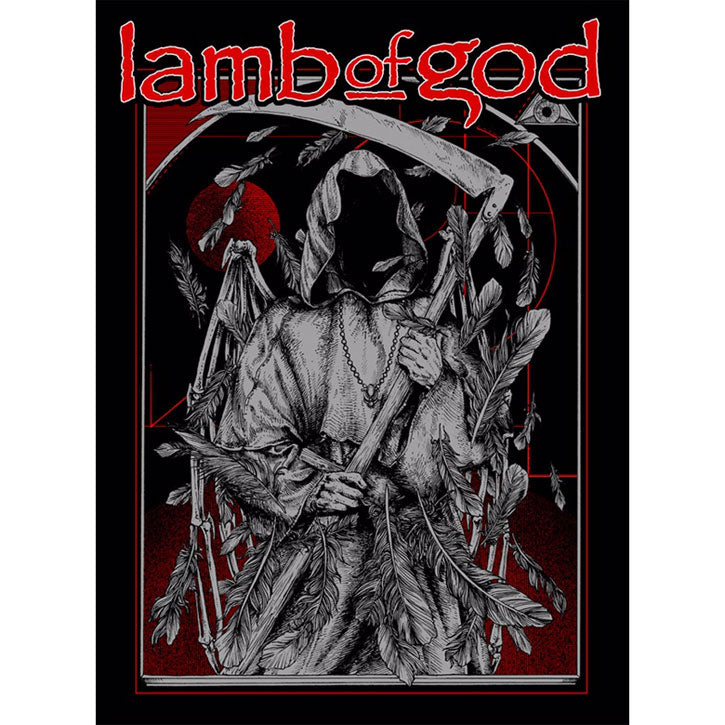 'Lamb Of God' by Rafal Wechterowicz (Raf The Might) Limited Screenprint