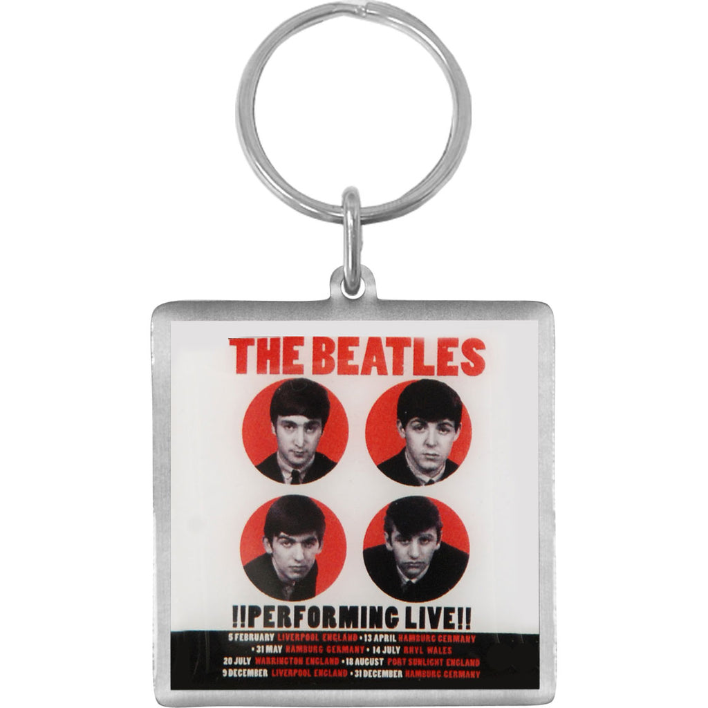 1962 Performing Live Metal Key Chain