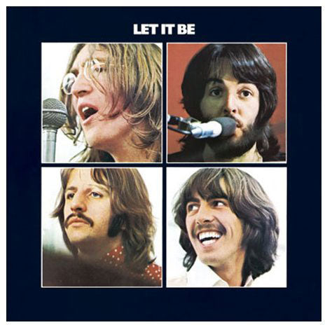 Let It Be Post Card
