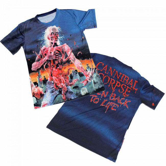 Eaten Back To Life Sublimation T-shirt
