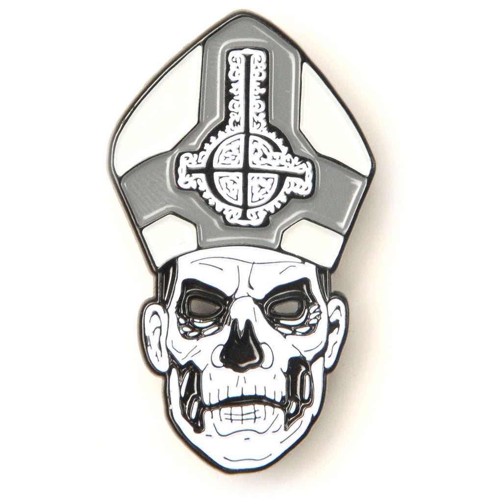 Papa Emeritus II Enamel Pin Pewter Pin Badge