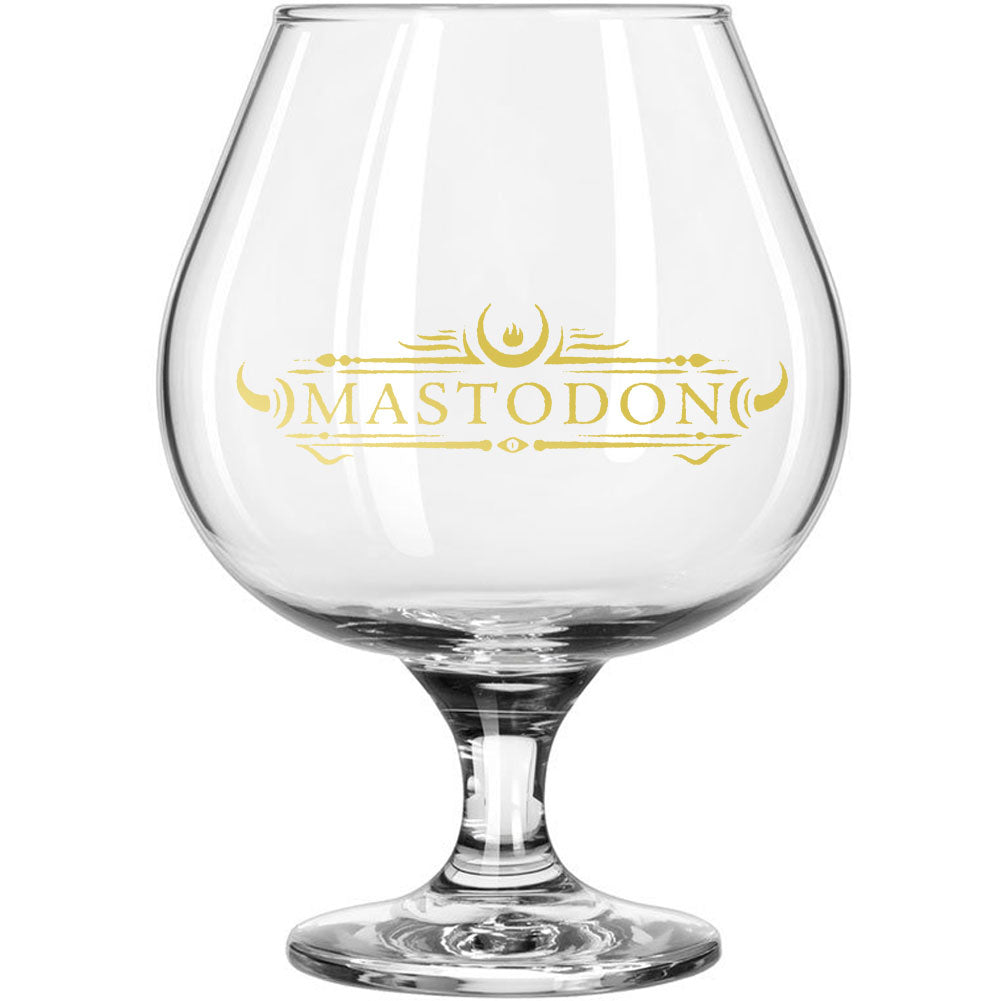 Emperor Of Sand Logo Brandy Glass Wine Glass