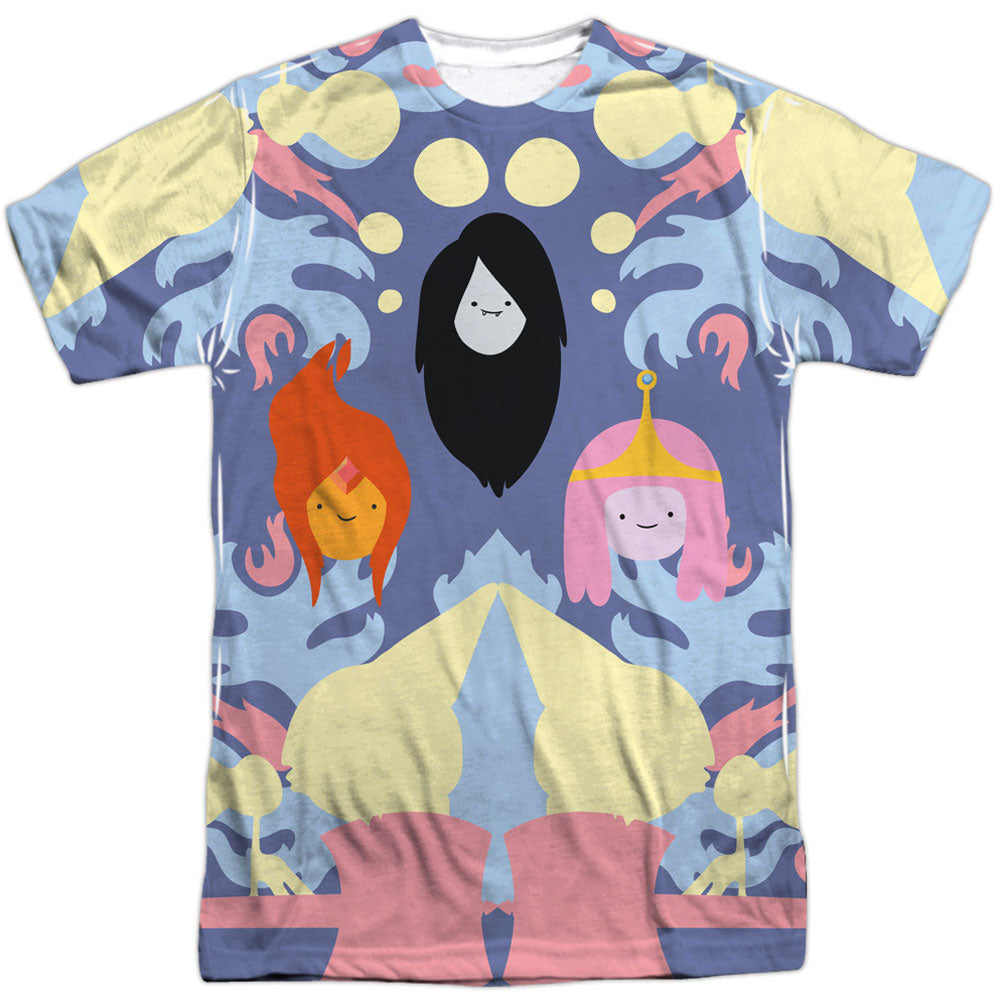 Pb, Fp & Marceline 100% Poly Sublimation T-shirt