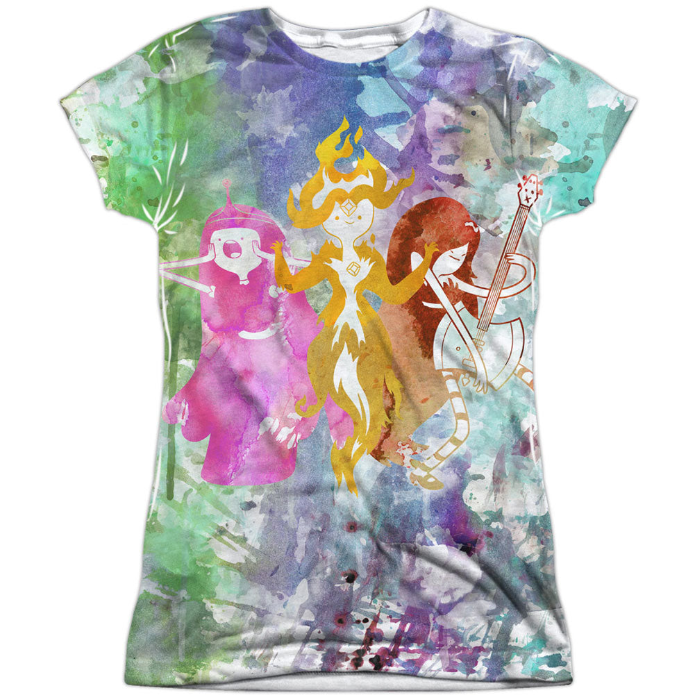 Three Ladies Sublimation Junior Top