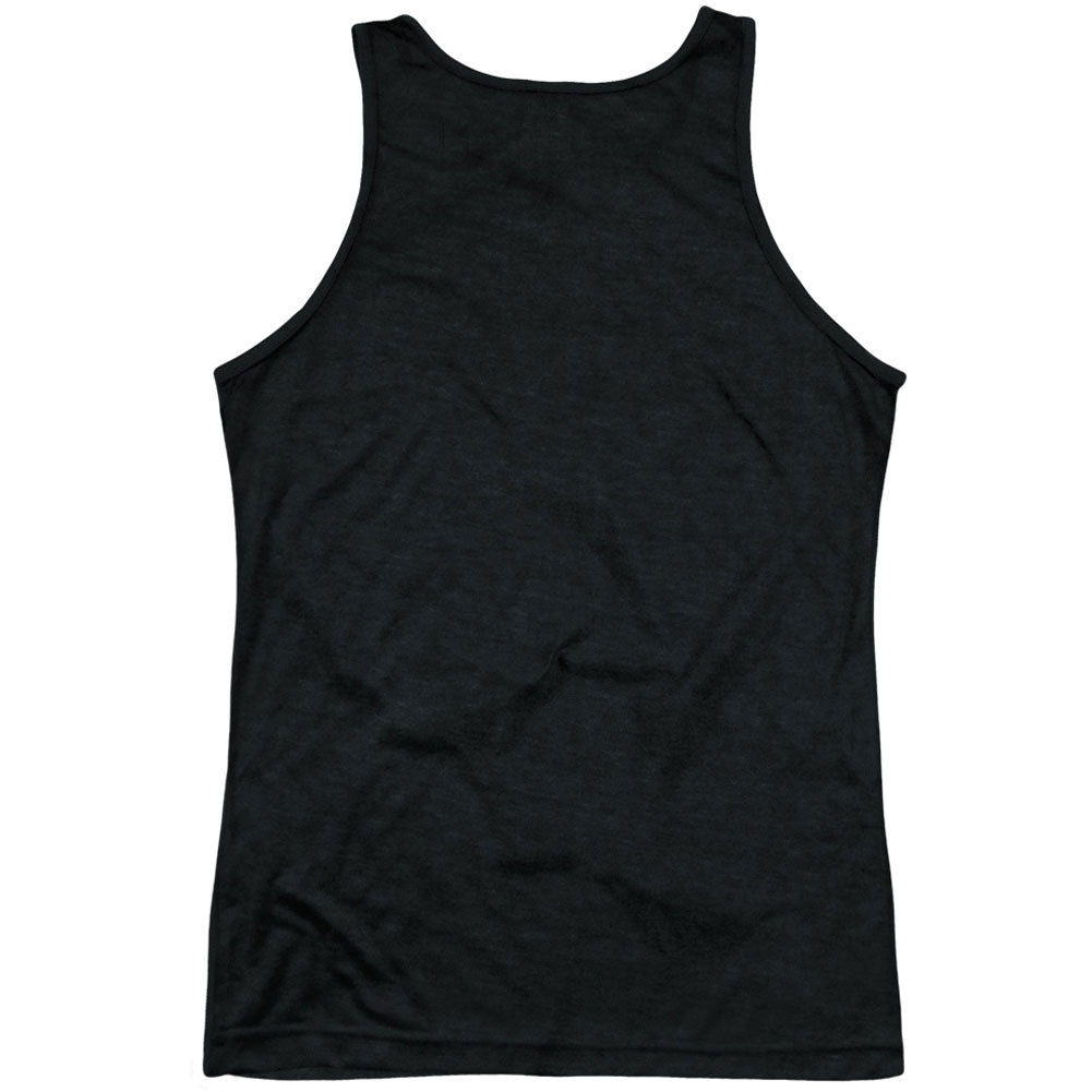 Hexagon Pattern Black Back Mens Tank