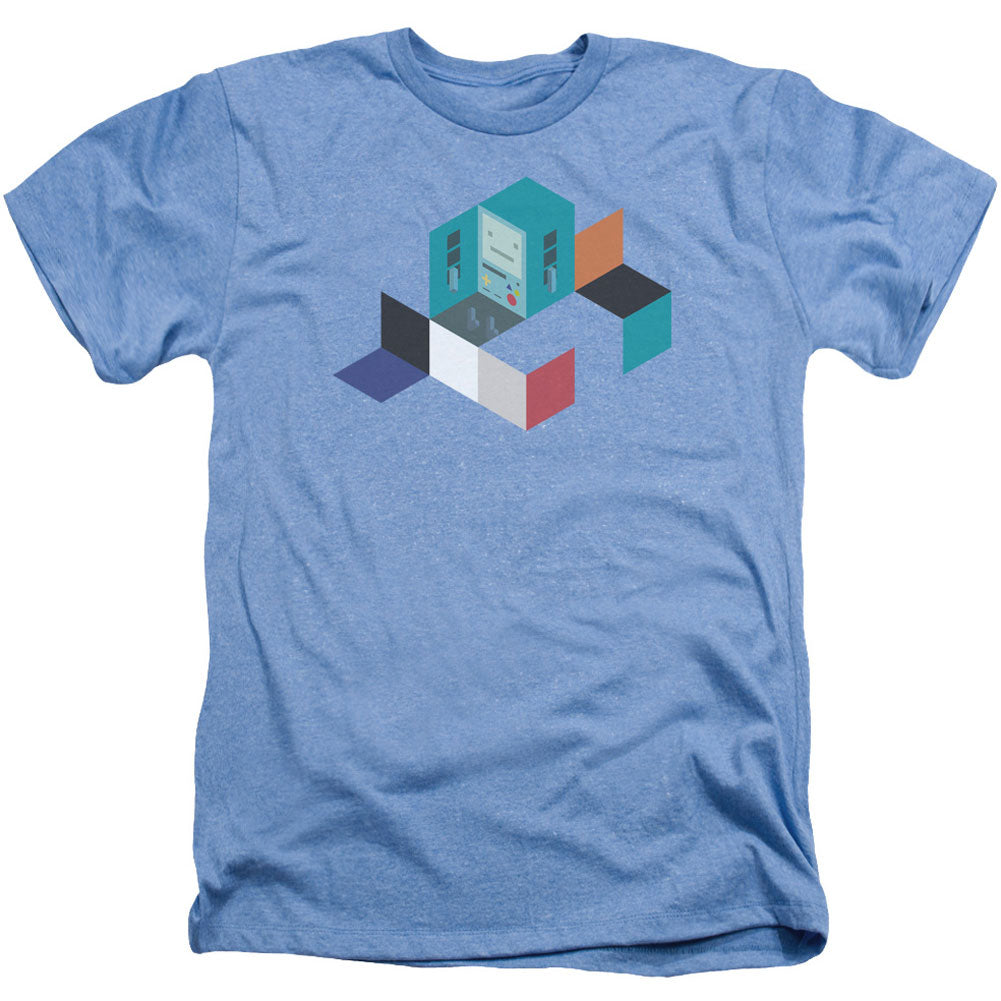 Bmo Blocks Adult Heather 40% Poly T-shirt