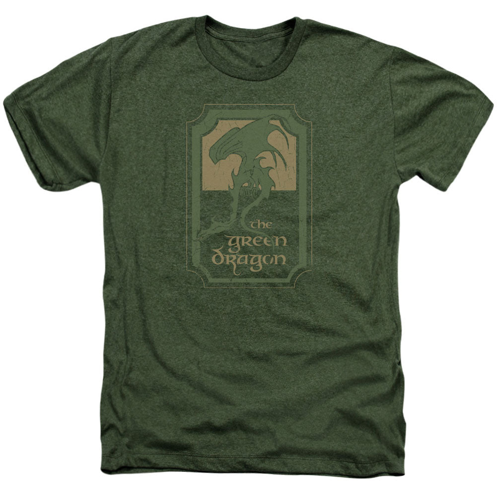 Green Dragon Tavern Adult Heather 40% Poly T-shirt