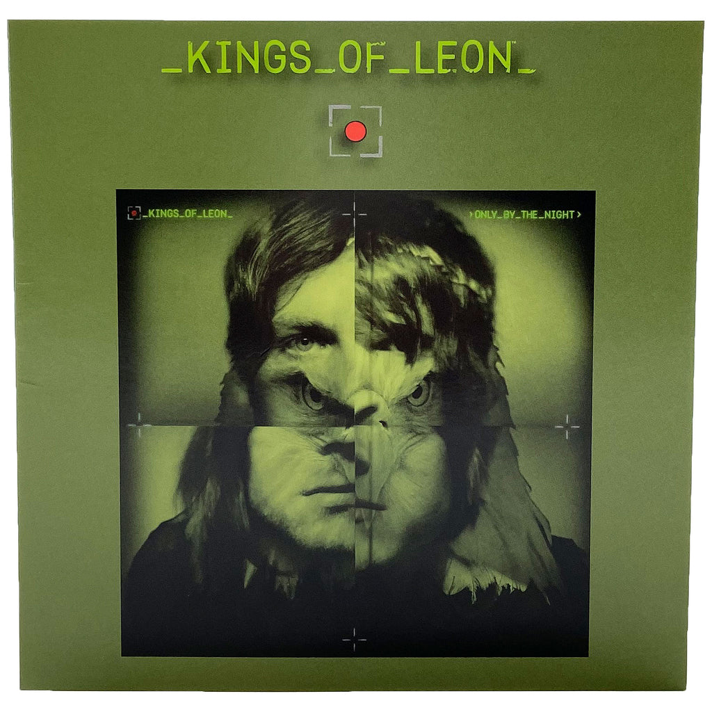Kings Of Leon Green Greeting Card