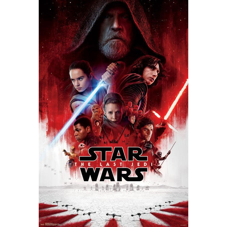 The Last Jedi Domestic Poster