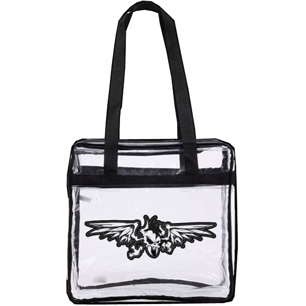 CLEAR VINYL BAG Girls Handbag
