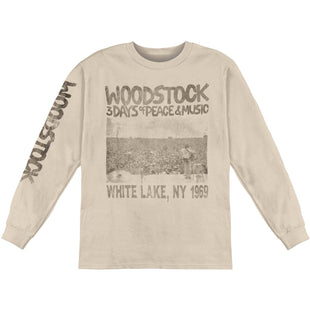 Woodstock Peace Now Adult Work Shirt