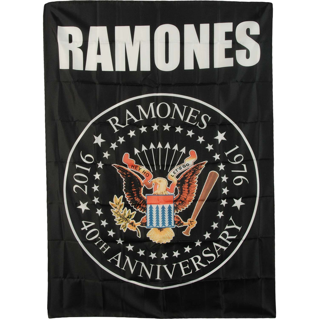 40th Anniversary Logo Poster Flag