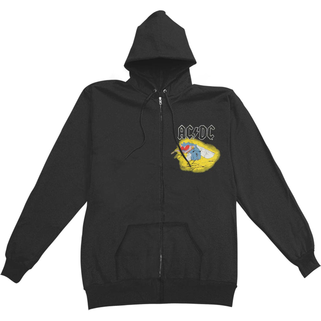 Concert Mens Hoodie Zippered Hooded Sweatshirt