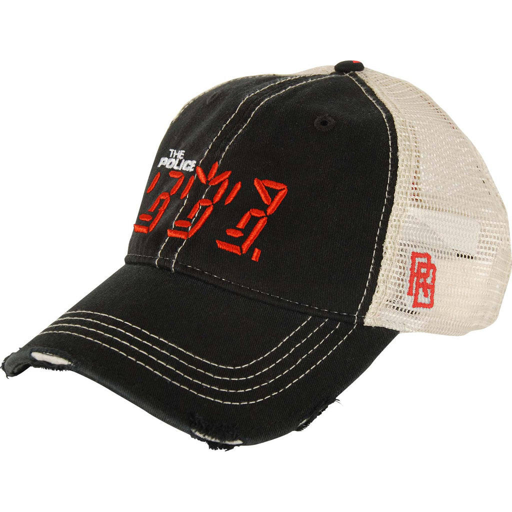 a976ab53 Police Ghost In The Machine Trucker Cap