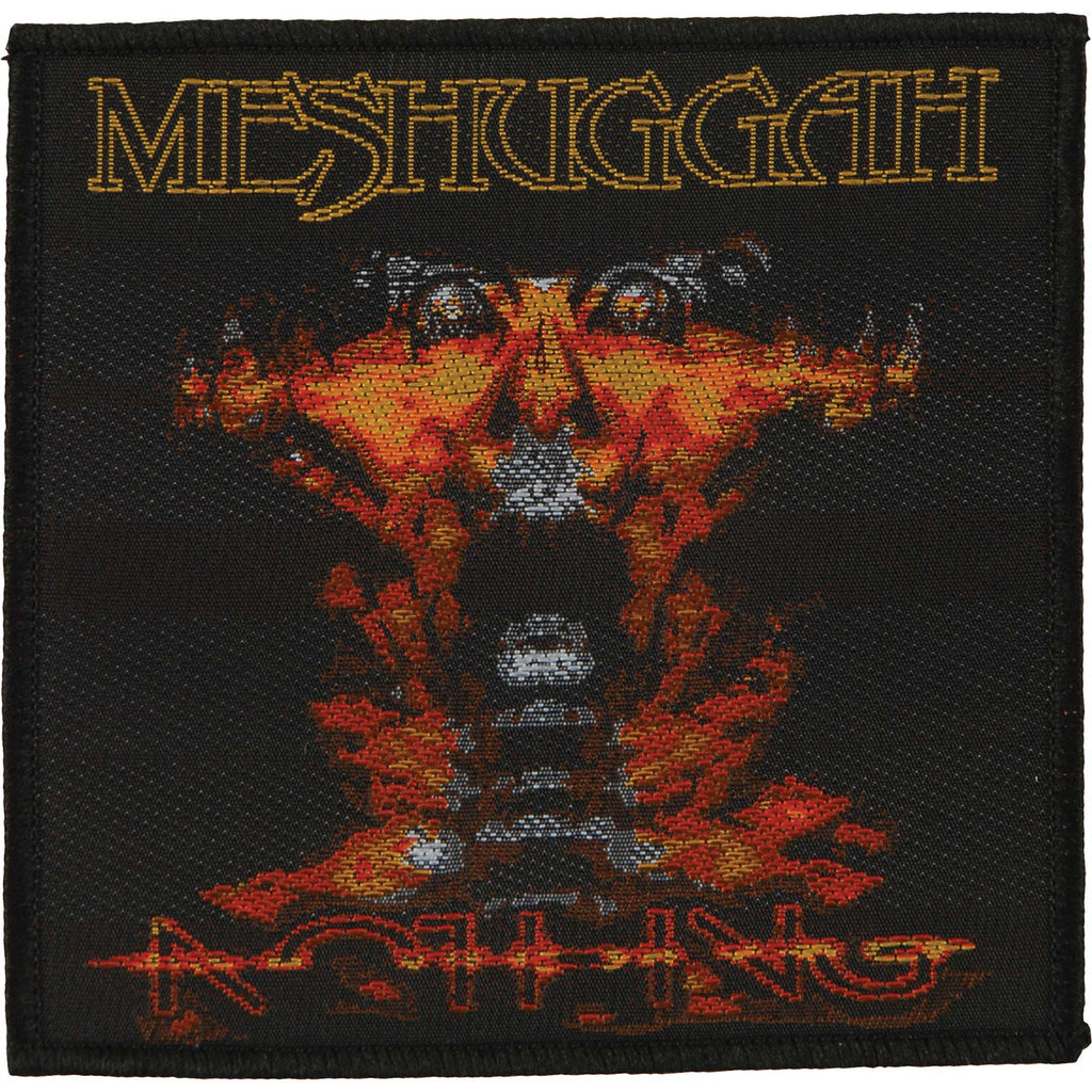 Meshuggah Nothing Woven Patch
