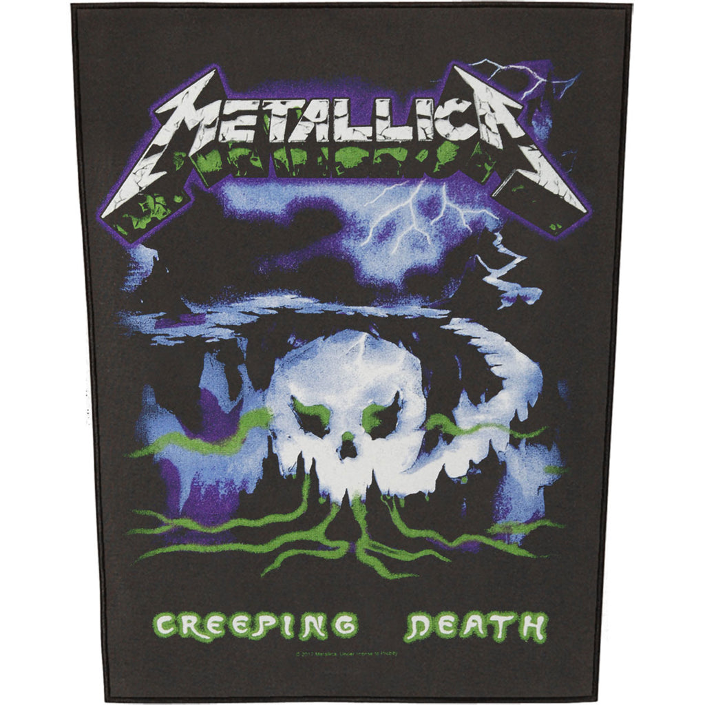 Creeping Death Back Patch