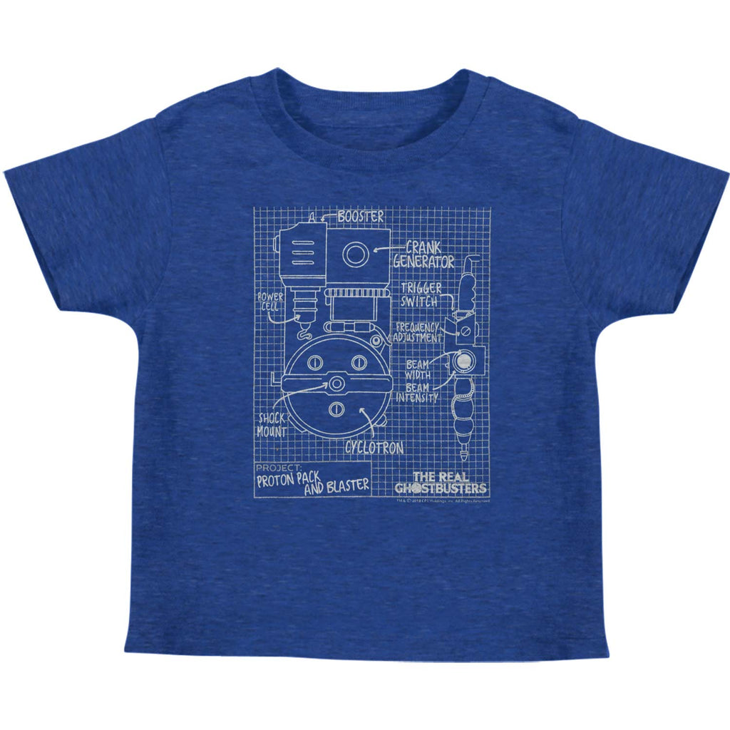 Blueprints Kids Childrens T-shirt