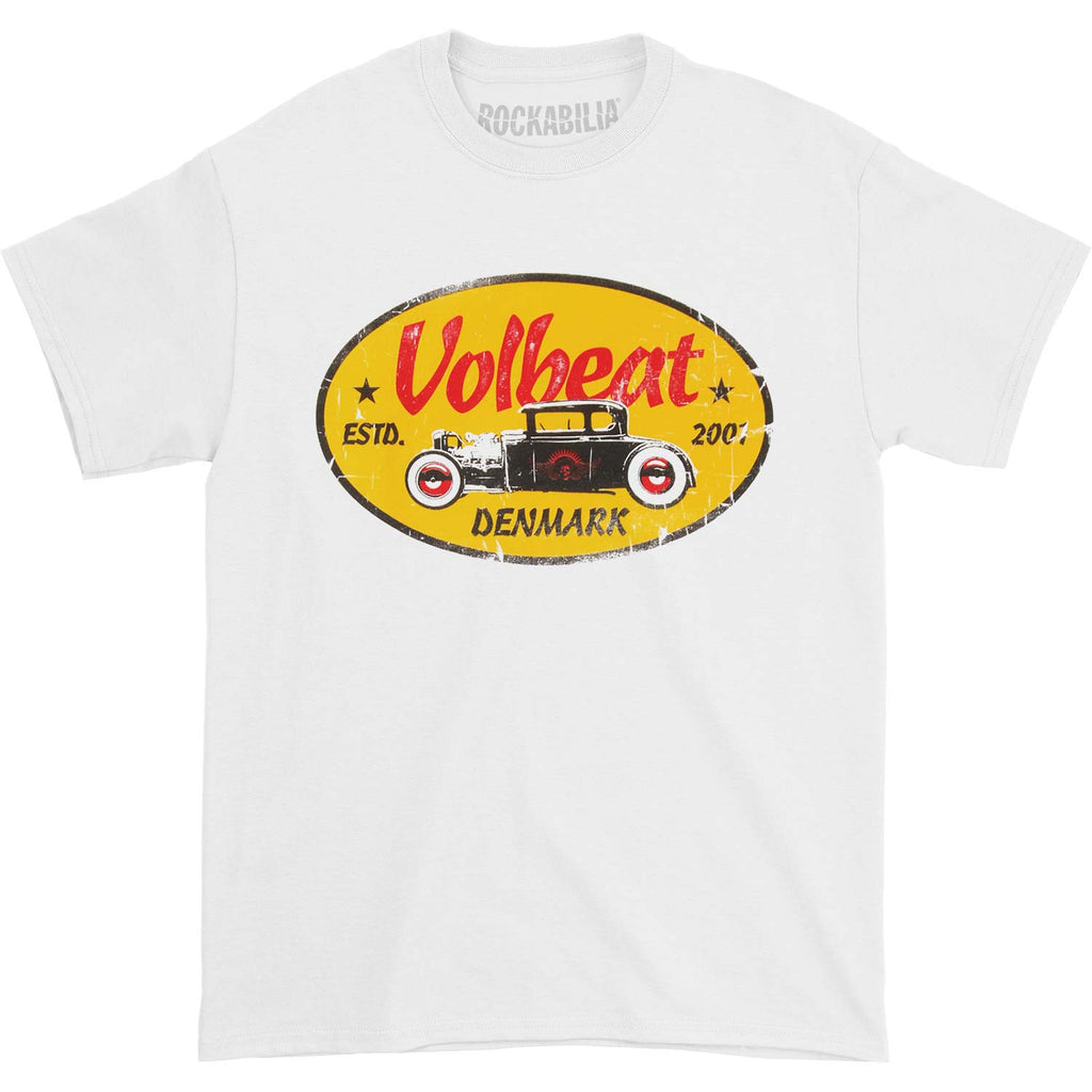 Yellow Oval T-shirt
