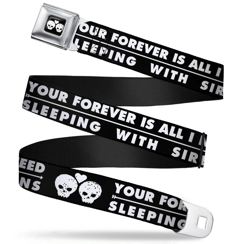 Your Forever Is All I Need Seatbelt Buckle Belt
